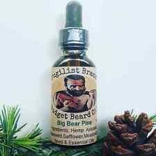 Budget Beard Care Oil by Pugilist Brand - Big Bear Pine