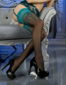 Ballerina 464 Sheer Stockings Thigh High Hold Ups