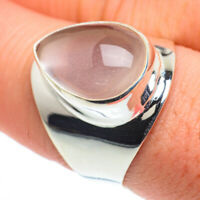 Rose Quartz 925 Sterling Silver Ring Size 9 Ana Co Jewelry R62529F