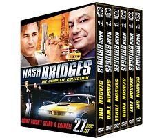 NASH BRIDGES: COMPLETE COLLECTION (Don Johnson) - DVD - Region 1