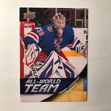 2011-12 Upper Deck All World Team Henrik Lundqvist SP