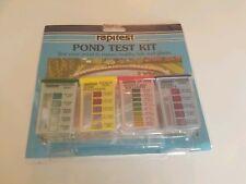 Rapitest Pond Test Kit No. 1900 Toxins, Water Quality, New Open Box