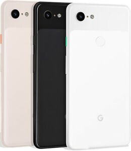 Google Pixel 3 XL (Unlocked)6.3' Android Smartphone 128GB/64GB  Black-White-Pink