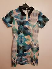 NEW, DEFINITIONS - Ladies Womens Girls Stunning Bright Patterned Dress Size 14