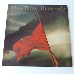 Thin Lizzy - Renegades - Vinyl LP UK 1st Press EX/EX+
