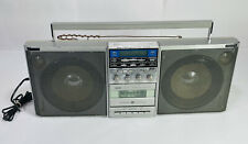 Vintage Ge General Electric 3-6035A Radio Cassette Player Boombox Guaranteed