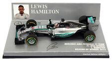 Minichamps Mercedes W06 Belgian GP Winner 2015 - Lewis Hamilton 1/43 Scale