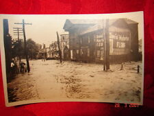 RPPC 1922 Flood Carbondale, Pa Old Forge, Pa Wilkes-Barre, Pa River Street