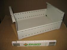 Blech Einsatz weiß für Karteikartenschrank Metal Griff innen und außen 284