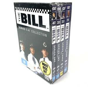 The Bill The Complete Series 1-4 17 DVD Set NEW SEALED