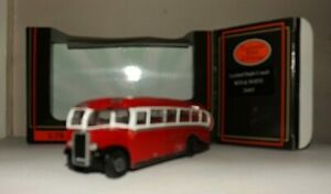 EFE 26803 RED AND WHITE LEYLAND DUPLE COACH 4MM 1:76 SCALE