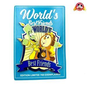 1 Pin LE BEST FRIENDS Disneyland Paris Big Ben & Lumiere BEAUTY AND THE BEAST