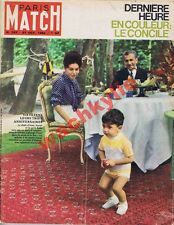 Paris Match n°707 du 27/10/1962 sha IranYemen art abstrait Rotschild