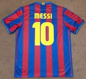 FC BARCELONA 2009/10 MESSI#10 NIKE HOME SHIRT JERSEY