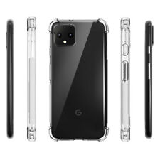 Google Pixel 4 XL 6.3 inch Case,Soft Clear TPU Protective Shockproof Cover Clear