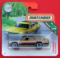 MATCHBOX 2019  ´71 OLDSMOBILE VISTA CRUISER  13/100   NEU&OVP