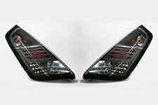 Fiat Grande Punto 05-10 LED Black Rear Lights Lamps Pair Set Driver Passenger