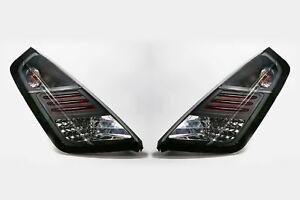 Fiat Grande Punto 05-10 LED Black Rear Lights Lamps Pair Set Driver Passenger