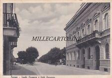 FAENZA: Scuola Ceramica e Viale Baccarini  1938