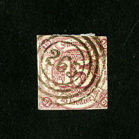 Germany Stamp # 51 F-VF Used Catalogue Value $175.00