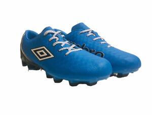 NWOB Umbro Club 3.0 Size 9.5 Soccer Cleats Blue/Boack UMBMR17 BLU FREE SHIPPING