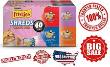 Wet Cat Food - Purina Friskies Variety Pack 5.5oz 40 Cans- USA Stock New Offer!!