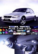 Lexus is200 White Interior light LED upgrade kit for dome & map ect