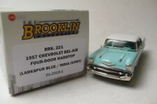 CHEVROLET BEL-AIR FOUR-DOOR HARDTOP 1957 BROOKLIN MODELS BRK.221 1:43