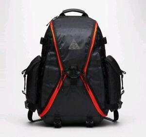 Nike NikeLab ACG Responder Backpack Bag Black/Team Orange BA6387 010 New Rare