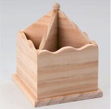 Pot À Crayons en bois brut
