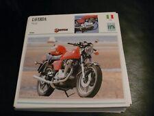 Fiche card CARTONNée laverda italie 750 sf 1976
