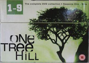 One Tree Hill Boxset Seasons 1-9 DVD  R15 49 Discs Region 2 Tested