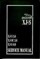 Jaguar Xjs 6 Cylinder Repair Shop Manual 1996 1995 1994 1993 1992 1991 1990 Xj S