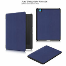 "Smart Leather Skin Shell Case Cover for 6.8"" Kobo Aura H2O Edition 2 eReader"