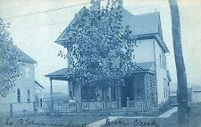 RPPC Edward John's House in Briar Creek PA Pre 1908