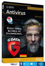 G data anti virus 2019 versión completa 3 PC - 1 año + manual download nuevo