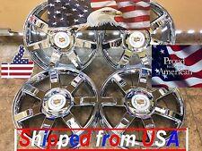 "22"" 22 inch Cadillac Escalade Chrome Wheels Rims OEM Spec Factory 4set 5309"