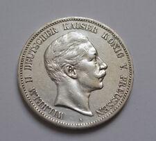 5 Mark 1908 Wilhelm II Kaiser Deutsches Reich Silber Silver Coin