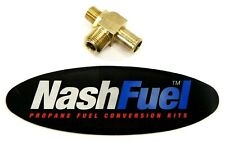 "3/8"" Npt x 5/8"" Hose Load Block Power Valve Generator Engine Propane Natural Gas"