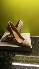 Ladies size 5 Dorothy Perkins shoes stiletto heels nude colour new with box