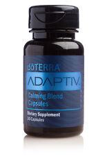 doTERRA Adaptiv Calming Blend 30 Capsules Therapeutic Grade Pure Aromatherapy