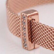 925 Silver Sparkling TIMELESS SPARKLE CZ Clip Charm Fits Reflexions bracelets