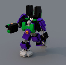 Custom Joker Mech Suit (Minifigure Scale) - Instructions Only