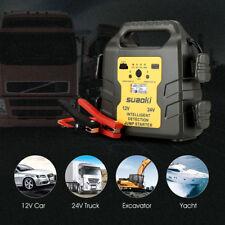 24000mAh Auto Jump Starter 12V/24V Booster Akku Ladegerät Starthilfe Power Bank
