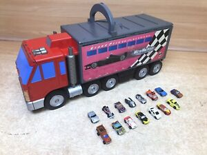 Vintage Micro Machines Grand Prix Racing Truck Track Playset Cars included 1999