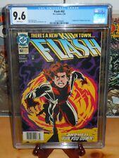 ✨ Flash #92 CGC 9.6 NEWSSTAND EDITION 1st App Impulse Bart Allen DC Comics 1994