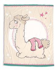 Nici Fleece Kuschel Decke Dalia Lama bunt gemustert bedruckt Plüsch