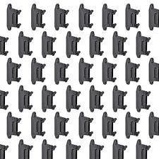 25x Isolator Upland schwarz f Bänder bis 40mm Seile u