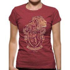 Harry Potter Gryffindor Mens T-shirt Licensed Top Red S
