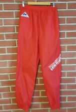 Apex One New England Patriots NFL Vintage Wind Pants Red Mens Size Large Retro